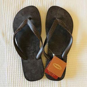 NWT Havaianas Brown Flip Flop